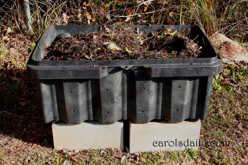 compost open