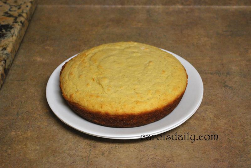cornbread plate