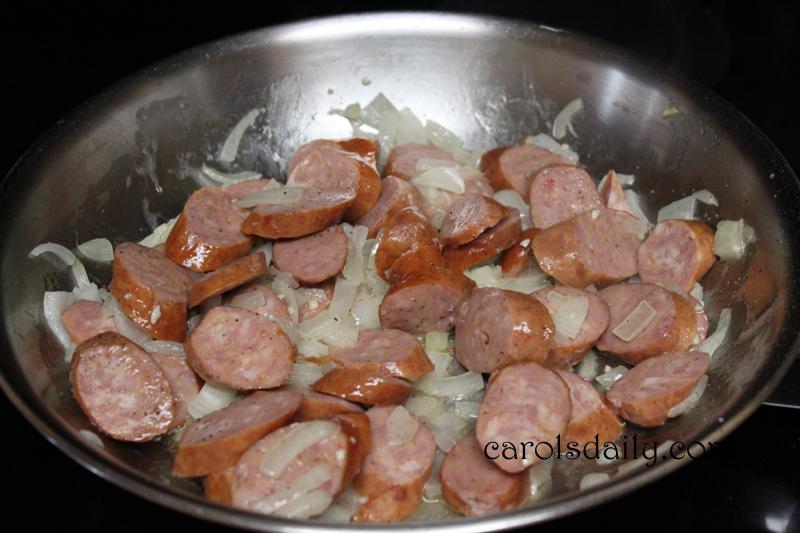 onion sausage