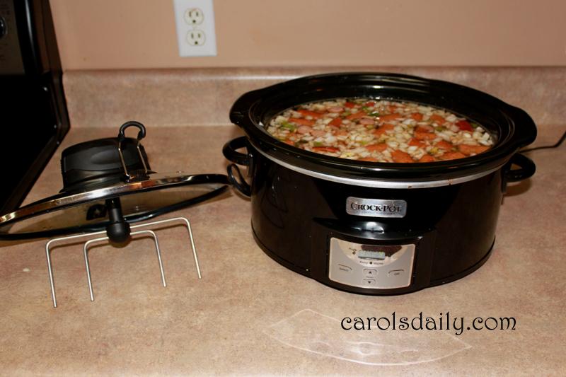 crock pot metal stir