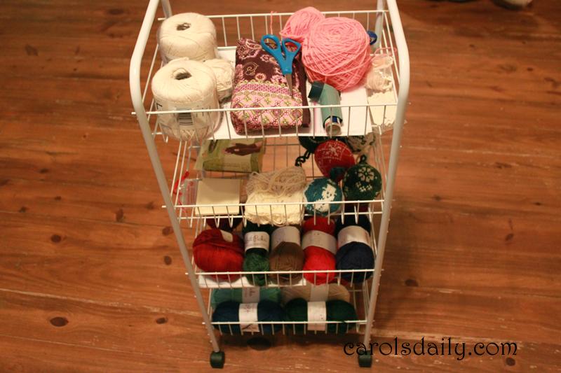 yarn cart
