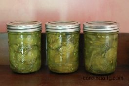 Amish Break and Butter Pickles